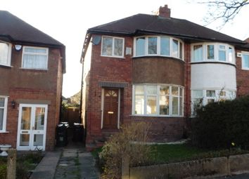 Thumbnail 3 bed semi-detached house to rent in Trysull Avenue, Sheldon, Birmingham