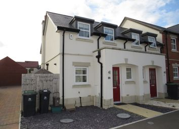 Thumbnail 1 bed end terrace house for sale in Sedge Place, Weymouth