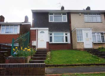 Thumbnail 3 bedroom end terrace house for sale in Stoney Lane, Walsall