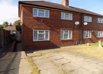 Thumbnail 6 bed semi-detached house to rent in Broom Road, Dudley, Dudley