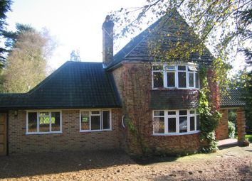 Thumbnail 4 bed detached house to rent in Heath Ridge Green, Cobham
