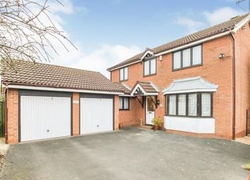 Thumbnail 4 bed detached house for sale in The Heathers, Evesham, Worcestershire