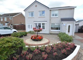 Thumbnail 2 bed semi-detached house for sale in Carrick Vale, Cleland, Motherwell