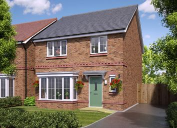Thumbnail 4 bedroom detached house for sale in Blackthorn Road, Northampton