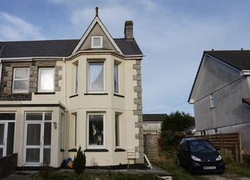 Thumbnail 4 bed semi-detached house for sale in Eddystone Road, St. Austell