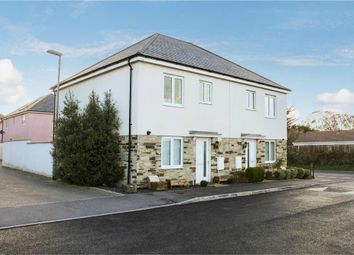 Thumbnail 3 bed semi-detached house for sale in Cavendish Crescent, Newquay, Cornwall