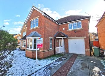 Thumbnail 3 bed detached house for sale in Whitworth Gardens, Hartlepool