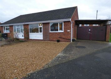Thumbnail 2 bedroom semi-detached bungalow for sale in Hawthorn Way, St. Ives, Huntingdon