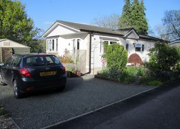 Thumbnail 3 bedroom mobile/park home for sale in Besom Bank, Norton Manor Park (Ref 5591), Presteigne, Wales