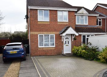 Thumbnail 3 bedroom semi-detached house for sale in Pyes Meadow, Elmswell, Bury St. Edmunds