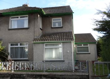 Thumbnail 3 bed semi-detached house to rent in Chestnut Way, Bridgend