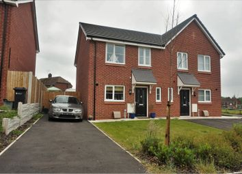 Thumbnail 3 bed semi-detached house for sale in Pelton Close, Northwich