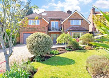 Thumbnail 4 bed detached house for sale in Finchdean Road, Rowlands Castle