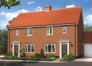 Thumbnail 3 bedroom semi-detached house for sale in Land Off Common Road, Snettisham, Norfolk