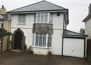Thumbnail 3 bed detached house to rent in Furzehatt Road, Plymstock, Plymouth