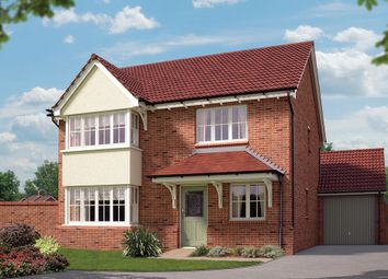 "Thumbnail 4 bed detached house for sale in ""The Canterbury"" at Chester Road, Malpas"