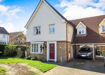 Thumbnail 4 bedroom link-detached house for sale in Holkham Close, Downham Market