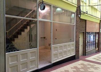 Retail premises to let in 2 Piccadilly Arcade, Hanley, Stoke On Trent, Staffordshire ST1