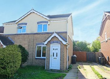 Thumbnail 2 bedroom semi-detached house for sale in Appledore Close, Hull