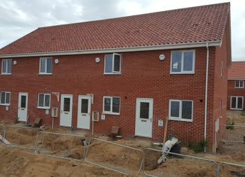Thumbnail 2 bedroom end terrace house for sale in Shotesham Road, Poringland, Norwich