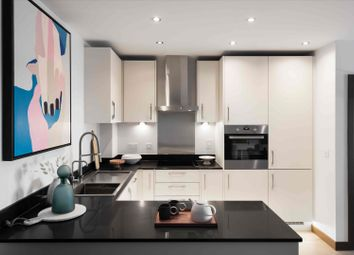 Thumbnail 1 bed flat for sale in Plot 167 Victoria Central, Victoria Avenue, Southend-On-Sea, Essex