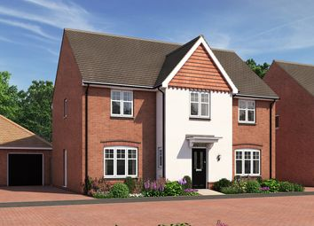 "Thumbnail 5 bed detached house for sale in ""The Railton"" at Moormead Road, Wroughton, Swindon"