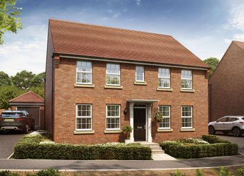 "Thumbnail 4 bed detached house for sale in ""Chelworth"" at Pyle Hill, Newbury"