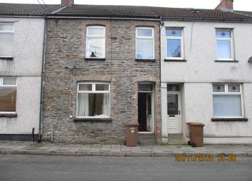 Thumbnail 3 bed terraced house to rent in Thomas Street, Llandbradach