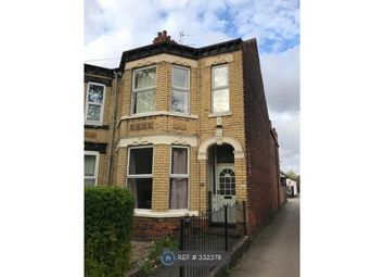 Thumbnail 4 bed end terrace house to rent in Salisbury Street, Hull