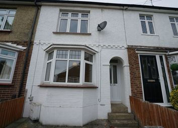 Thumbnail 2 bed terraced house to rent in Holcombe Road, Rochester, Kent