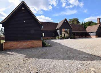 Thumbnail 4 bed barn conversion for sale in The Street, Cressing