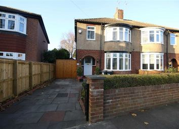 Thumbnail 3 bed semi-detached house for sale in Woodvale Road, Darlington