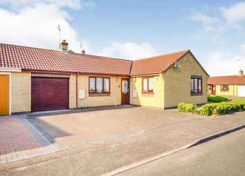 Thumbnail 3 bed semi-detached bungalow for sale in Sandpiper Close, Whittlesey, Peterborough