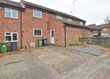 Thumbnail 3 bed terraced house to rent in Harmer Close, North Walsham