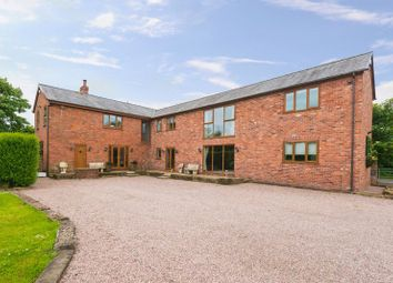Thumbnail 6 bed detached house for sale in Lodge Lane, Farington Moss, Leyland