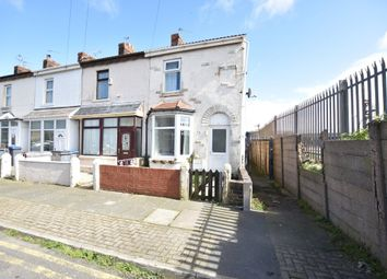 Thumbnail 2 bedroom end terrace house for sale in Wall Street, Blackpool