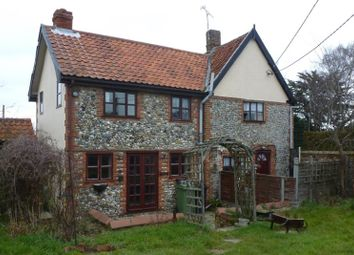 Thumbnail 3 bedroom semi-detached house for sale in The Street, North Lopham, Diss, Norfolk