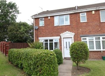 Thumbnail 2 bed semi-detached house for sale in Staveley Close, Bucknall, Stoke-On-Trent
