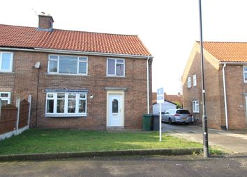 Thumbnail 3 bed semi-detached house for sale in Wordsworth Avenue, Dinnington, Sheffield