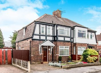 Thumbnail 3 bed semi-detached house for sale in Berwick Avenue, Heaton Mersey, Stockport