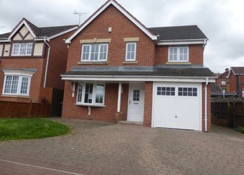 Thumbnail 4 bed detached house for sale in Moat House Way, Conisbrough, Doncaster