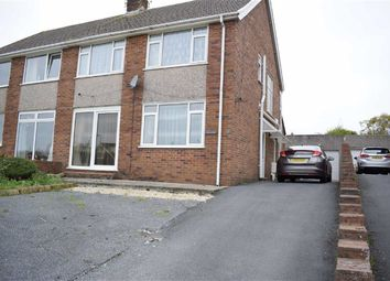 Thumbnail 3 bed semi-detached house for sale in Parklands View, Derwen Fawr, Sketty, Swansea