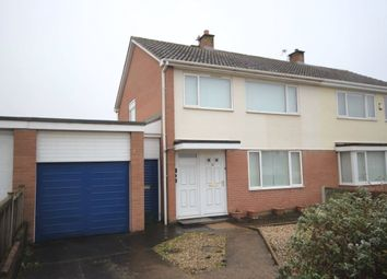 Thumbnail 3 bed semi-detached house for sale in 45 Lowry Hill Road, Carlisle, Cumbria