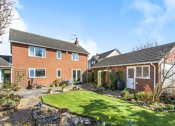 Thumbnail 4 bed detached house for sale in Delamere Park Way West, Cuddington, Northwich