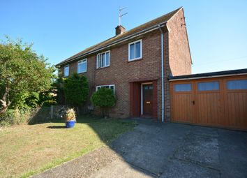 Thumbnail 3 bed semi-detached house for sale in Homefield Avenue, Lowestoft
