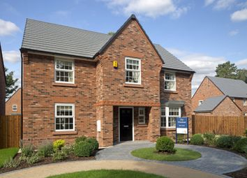 "Thumbnail 4 bedroom detached house for sale in ""Winstone"" at Swanlow Lane, Winsford"