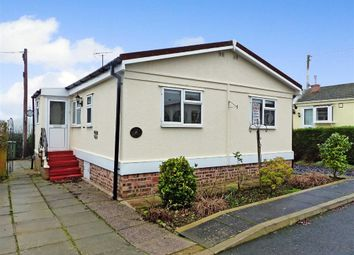 Thumbnail 2 bed mobile/park home for sale in Weaver Vale Park, Warrington Road, Bartington Northwich, Cheshire