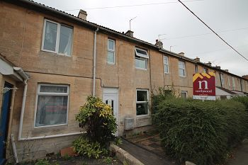 Thumbnail 2 bed terraced house to rent in Wyke Road, Trowbridge, Wiltshire