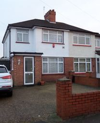 Thumbnail 3 bed semi-detached house to rent in Cranford Drive, Hayes