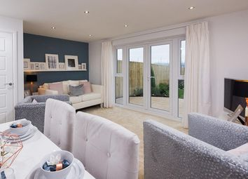 "Thumbnail 3 bed detached house for sale in ""Folkestone"" at Sutton Way, Whitby, Ellesmere Port"